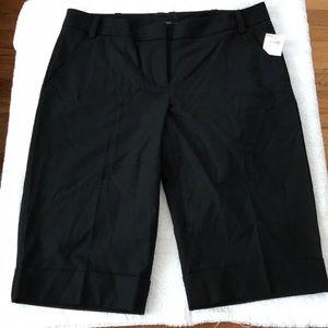 NWT Black dress shorts